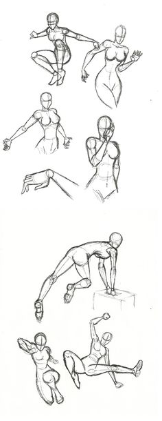Dynamic poses
