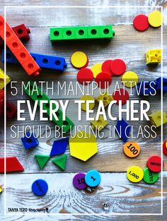 Read about five math manipulatives that are perfect for your elementary classroom! Manipulatives are a great way to bring math concepts to life! READ MORE HERE! Math Resources, Math Activities, Math Strategies, Classroom Resources, 5th Grade Math, Second Grade, Math Manipulatives, Math Intervention, Math Classroom