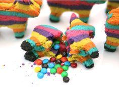 Behold: The Pinata Cookie. #Cookies #Pinata #CincoDeMayo