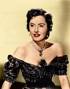 BARBARA STANWYCK TECHNICOLOR CONVERSION BY BEDAZZZLED