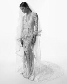 Vanessa Traina and her Givenchy #weddingdress, 2012. Photo: Max Snow