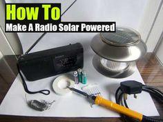 DIY Solar Powered Radio - SHTF Preparedness