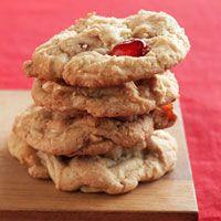 Paula Deen's White Chocolate Cherry Chunkies Recipe
