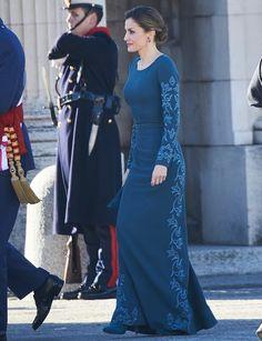 La Reina Letizia durante la Celebración de la Pascua Militar 2017, Madrid, España. 06.01.2017