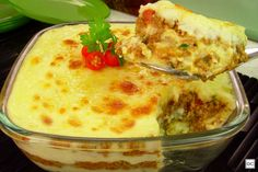 Nhocão de carne moída Cheeseburger Chowder, Quiche, Macaroni And Cheese, Soup, Pudding, Dinner, Cooking, Ethnic Recipes, Health