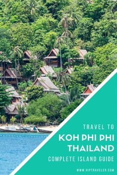 A 5-day guide to finding paradise in the Koh Phi Phi Islands in southern Thailand. Best things to do, where to stay, fun day trips and beach excursions + practical tips for your trip. Travel in Southeast Asia.   Blog by HipTraveler: Bookable Travel Stories from the World's Top Travelers #KohPhiPhi #Thailand