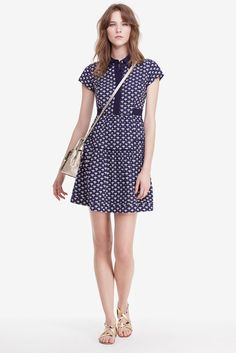DVF Skylar Cotton Shirt Dress
