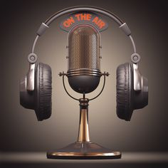 Ten tips for giving a great radio or podcast interview to help gain exposure for your product, service, or brand. Radios, Fille Grillz, Art Deco Buildings, Photo Background Images, Visualisation, Vintage Microphone, Image Hd, The Voice, Musicals