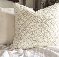 You can't go wrong with this stunning Pillow Cover! They're not only the coziest pillow covers, but they also add texture to your sofa! We just love these so much! This cover is 100% cotton and will f