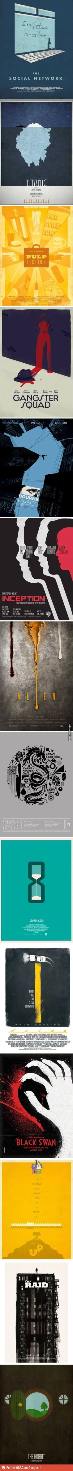 Creative alternate movie posters
