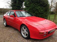 Porsche 944 Red (1985)
