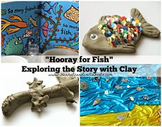 """Sun Hats & Wellie Boots: """"Hooray for Fish!"""" - Exploring the Story with Clay"""