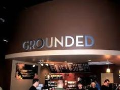 "****LOVE this name for coffee area**** If the ""welcome center"" was The Hub we could say ""Grounded @ The Hub"" ***church coffee bar names - Bing images Church Interior Design, Interior Design Games, Church Design, Church Lobby, Church Foyer, Church Office, Coffee Shop Names, My Coffee Shop, Coffee Area"