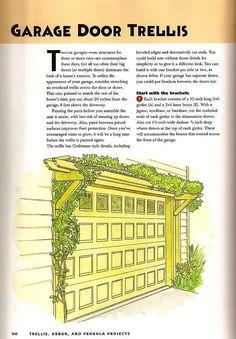 Garage Door Trellis, p.1