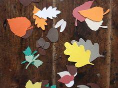 Petits papiers d'automne