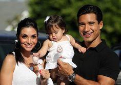 Courtney Mazza and Mario Lopez #poshmommy