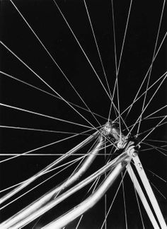 Edward Quigley - Abstraction of Wheel Spokes 1930's
