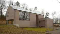 Façade avant : Modernistyczne domy od Atelier d'architecture François Misonne