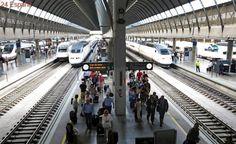 Convocan siete jornadas de huelga en el servicio a bordo de los trenes AVE desde el día 26