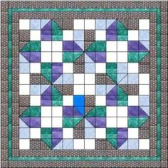 Lucky clover quilt pattern and tutorial from Ludlow Quilt and Sew