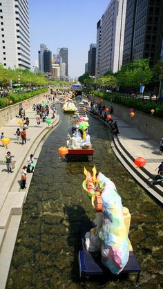 #Seoul, South Korea, Walking street                                                                                                                                                      More