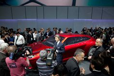 Urus and Auotmobili Lamborghini CEO Stephan Winkelmann at the Beijing Motor Show