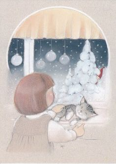 Kaarina Toivanen (my collection) - pioni pionia - Picasa Web Albums Christmas Nativity, Christmas Clipart, Felt Christmas, Vintage Christmas, Christmas Cards, Xmas, Animal Pictures, Cute Pictures, Funny Drawings