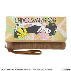 ENDO WARRIOR Black Clutch