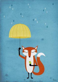 Illustration by Litet Hus. Discover more: http://www.gramposters.com/category/litet/