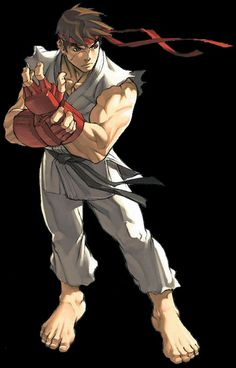 Ryu Street Fighter Comics, Street Fighter Game, Street Fighter Characters, Super Street Fighter, Street Fighter Wallpaper, Macross Valkyrie, Super Anime, King Of Fighters, Fighting Games