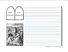 Ten-Commandments-Notebooking-Pages- Notebooking Fairy
