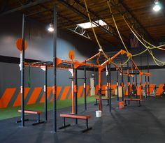 Crossfit Gym Design Gym outfitting commercial