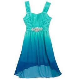 Product: Speechless® Girls' 7-16 Blue/Ivory Lace Top Dress | dream ...