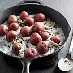 Skillet Salt-Roasted Potatoes From Better Homes and Gardens, ideas and improvement projects for your home and garden plus recipes and entertaining ideas.