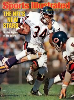 Buy Sports Illustrated Magazine, November 22 VG+ or better condition. Sports Illustrated Magazine, November 22 1976 - My photo shows the ACTUAL item on sale. Bears Football, Chicago Cubs Baseball, Nfl Chicago Bears, Football Rules, School Football, Sport Football, Football Players, Sports Magazine Covers, Best Running Backs