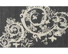 Grey and white rug from Fabulous & Baroque