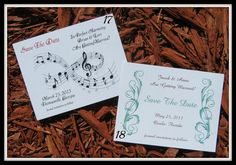 50 Wedding Save The Date POSTCARDS  Lots of by MessagesOfTheHeart