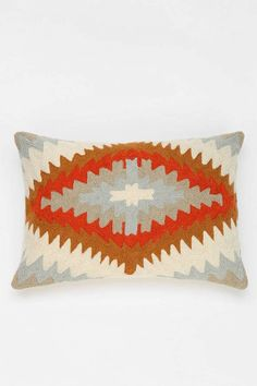 This pillow is just the pop of color you've been looking for.