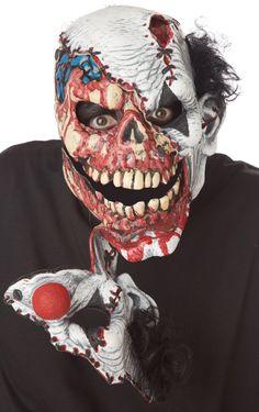 In Stitches Ripper Clown Mask