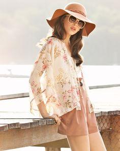 Hat Sunglasses Vogue Fashion