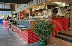 Restaurante Los Soprano. Little Italy en estado puro, diseñado por Dissenya2 Arquitectura