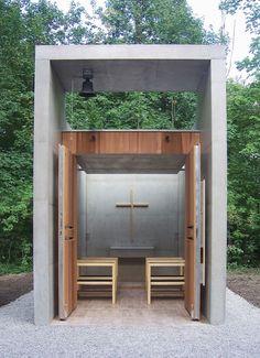 Kunze Seeholzer, St. Benedikt Chapel #religiousarchitecture
