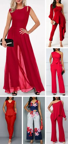 We offer to consider wedding jumpsuits, which are so original. These jumpsuits a… We offer to consider wedding jumpsuits, which are so original. These jumpsuits are ceremonial and feminine. Here are some modern designs to impress you! Vêtement Harris Tweed, Wedding Jumpsuit, Jumpsuit Pattern, Casual Jumpsuit, Red Jumpsuit, Jumpsuits For Women, The Dress, Stylish Outfits, Ideias Fashion