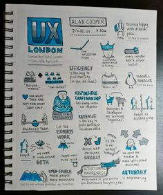Design User Experience Sketch Notes
