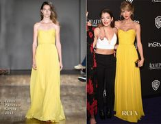 Taylor Swift In Jenny Packham – 2015 InStyle and Warner Bros. Golden Globe Awards Post-Party