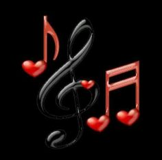 Black and Red music notes / symbols. Music Notes Art, Music Pics, Music Pictures, Music Albums, I Love Music, Music Is Life, My Music, Sound Of Music, Music Stuff