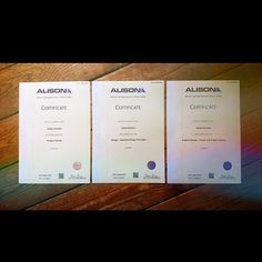 The three certificates for the qualifications I got after college this year have finally arrived in the post!  I now have a Level 3/4 in Product Design and Level 3 in both Design- Applying Design Principles and Graphic Design-Visual And Graphic Design! #Art #Graphicdesign