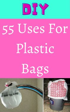 If you go shopping often, you probably have a lot of plastic bags lying around your home. Plastic bags are way more useful than you would think. They aren't just for picking up dog poo or for use as makeshift trash bags. Diy Crafts For Girls, Diy Crafts For Home Decor, Fun Crafts To Do, Easy Diy Crafts, Diy Arts And Crafts, Diy Pallet Projects, Woodworking Projects, Wicks Diy, Diy Kitchen Cupboards