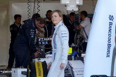 La piloto de pruebas de Williams, Susie Wolff, se pondrá tras el volante del monoplaza del año 2015 del equipo de Grove en el test de mediados de febrero que tendrá lugar en el circuito de Barcelona