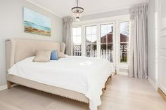 Master bedroom- curtains